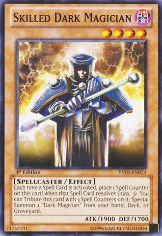 Yu-Gi-Oh.-aufwendig Dark Magician (ysyr-en013)-Starter Deck: Karten Reloaded-Unlimited Edition-gebräuchlicher von Yu-Gi-Oh. - Yu-gi-oh-karte Magician Dark