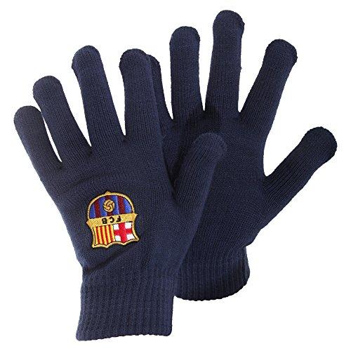 FC Barcelona - Gants - Homme Bleu - Bleu marine