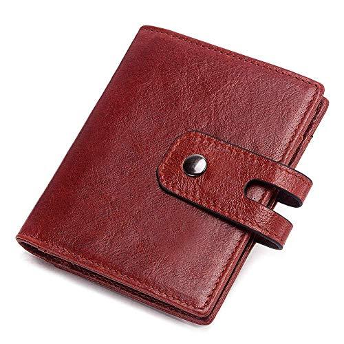 Anti-magnetische Blind-Karte Paket Karte Set Echte Pickup Tasche Null Brieftasche RFID Antimagnetische Karte Tasche rot -