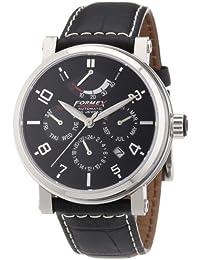Formex 4 Speed AT480 480.1.5320 - Reloj analógico automático para hombre, correa de cuero color marrón