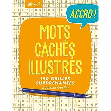 Mots cachés illustrés : 150 grilles surprenantes