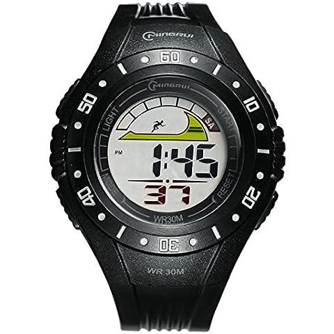 Studente e formato/Digitale impermeabile orologio sportivo/ running multifunzionale Chronograph
