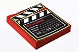 Forum Novelties x75864 AT THE MOVIES Dekoration Serviette, mehrfarbig, one size
