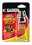 Bostik SA 021240 Colle contact néoprène liquide Blister de 55 ml