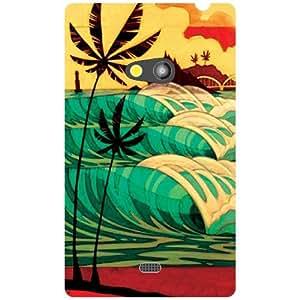 Back Cover For Nokia Lumia 625 -(Printland)