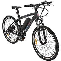 Simple Bike Vélo électrique Noir - 250 Watts - Adulte - VTT - Batterie Amovible