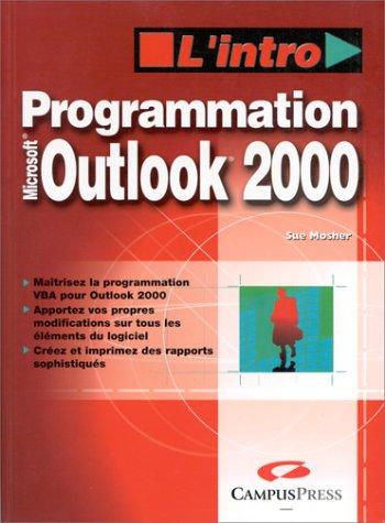Programmation Outlook 2000