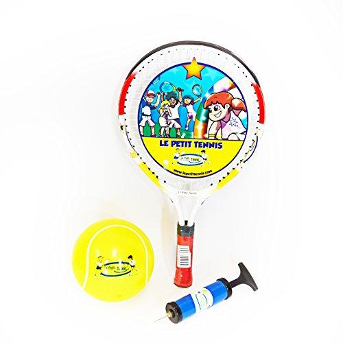 Le Petit Tennis - Raqueta de tenis (43,1cm, incluye bola de tenis hinchable de 15cm)