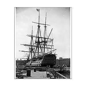 Media Storehouse 10x8 Print of HMS Victory (11788496)