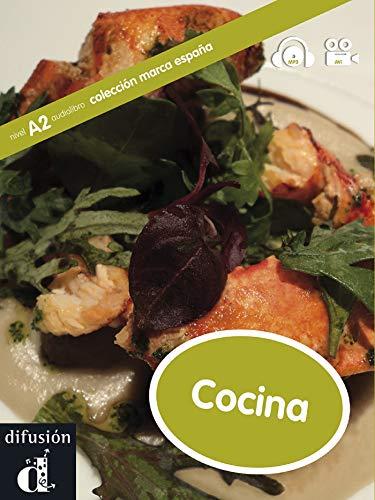 Colección Marca España. Cocina. Libro + CD: libro + MP3 + vídeo