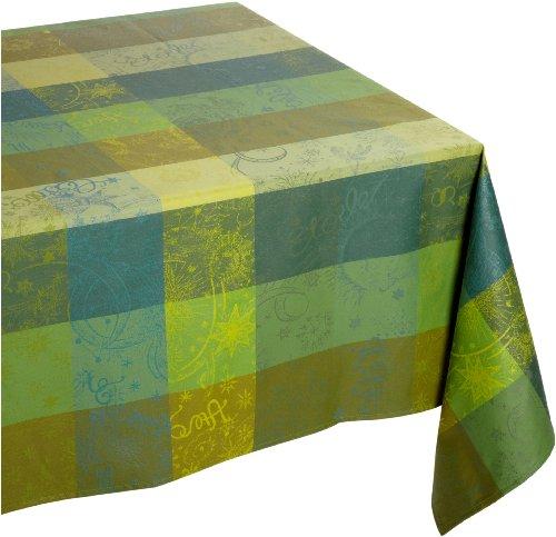 Garnier Thiebaut Nappe Enduit, Coton, Lime, 175x250 cm