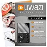 HIFI WALKER H2 MP3-Player Schutzfolie 5x uwazi glas-klare Displayschutzfolie Folie