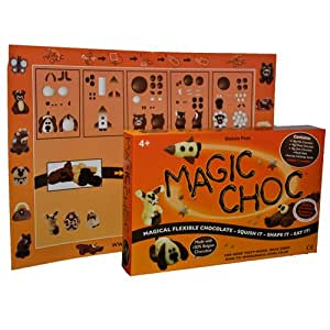 Magic Choc Flexible Modelling Chocolate Deluxe Pack 275 g