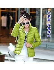 WJP mujeres ultra ligero de la chaqueta poco voluminoso abajo Outwear amortiguar por la chaqueta W-790