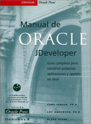 Manual De Oracle Jdeveloper