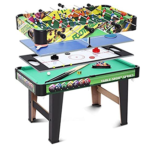 4 in 1 Folding Multi Games Table Air Hockey Pool