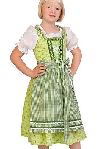 M.Stützle Trachten Kinderdirndl 3tlg. - LISA - limone, Größe 86