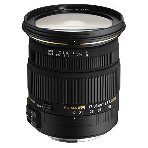 Sigma 17-50 mm F2,8 EX DC HSM-Objektiv (77 mm Filtergewinde) für Sony A-Objektivbajonett 01-video-capture