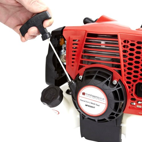 Trueshopping NEW 55CC PETROL LONG REACH POLE HEDGE TRIMMER CUTTER GARDEN BRANCH CUTTER TOOL WITH AIR-COOLED VERTICAL CYLINDER AND AUTOMATIC TRANSMISSION 2.3KW 3HP