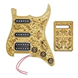 Signstek legno d' acero Ssh Prewired Pickguard humbucker pickup set per chitarra elettrica