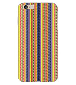 PrintDhaba Pattern D-5127 Back Case Cover for APPLE IPHONE 6S (Multi-Coloured)