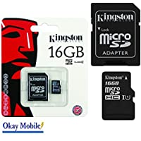 Original Kingston microSD Memory Card 16 GB for Samsung Galaxy Ace 1 2 3 4 New