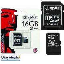 Original Kingston MicroSD Tarjeta De Memoria 32GB 32GB for Sony Xperia Z3Z4Compact