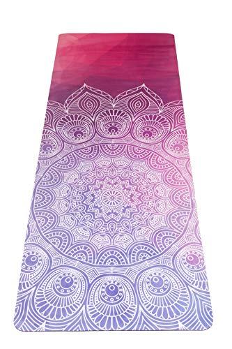 JAP Sports - Anti rutsch Yoga Pilates gymnastikmatte - 2-in-1 Matte und Handtuch - Naturkautschuk - Ideal für alle Arten von Yoga 1830 x 680 x 3 mm - Wisdom