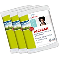 ALCLEAR Microfibre Cloth for Monitor for iPhone/iPod/iPad and Other Touch Screen Phones Pack of 3 - ukpricecomparsion.eu