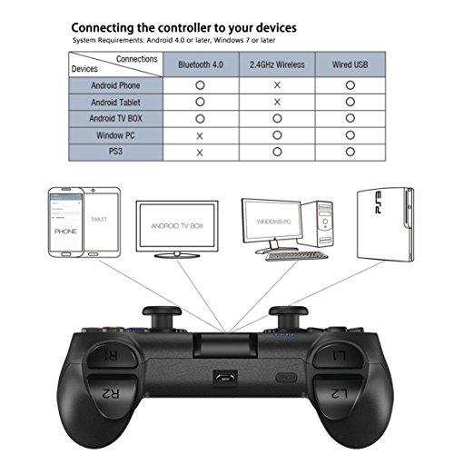 Bluetooth Gamepad/ Wireless/Wire Gamepad, 2 4G Gaming Indicator