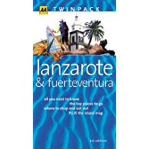 Lanzarote & Fuerteventura: All you need to know, the top places to go, where to shop and eat out PLUS the island map (AA TwinPacks)