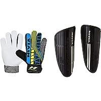 Nivia Carbonite Web 896 Latex Goalkeeper Gloves (Multicolour)