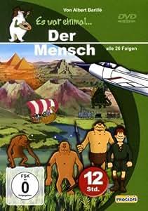 Schuber ES WAR EINMAL ... DER MENSCH, Teile 1 - 6 (Episoden 1 - 26) [6 DVDs]