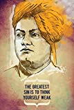 #7: LOOK DECOR swami vivekananda greatest.jpeg Poster for room Inspiring design collection quotes and messages posters. posters for boys and girls Wall decals for home and office poster for study room gym poster motivational messages funny funky cool captions and sayings on your door or wall Design.