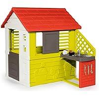 Smoby 810702 - Natur Haus mit Sommerküche