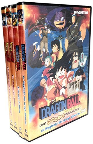 Dragon Ball Movie Collection - Pack #01 (4 Dvd)