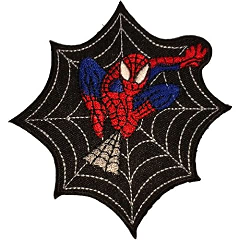 Embroidered Ecusson brode Iron on patch Spiderman Patches Hero Cartoon Patches Embroidered Iron on Patch style01