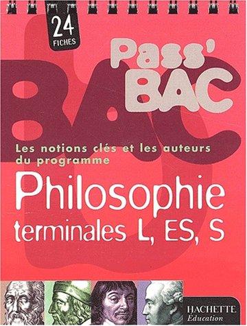 Philosophie Tle L, ES, S