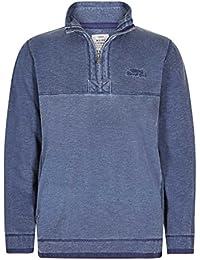 Weird Fish Zorrin 1/4 Zip Pique Sweatshirt
