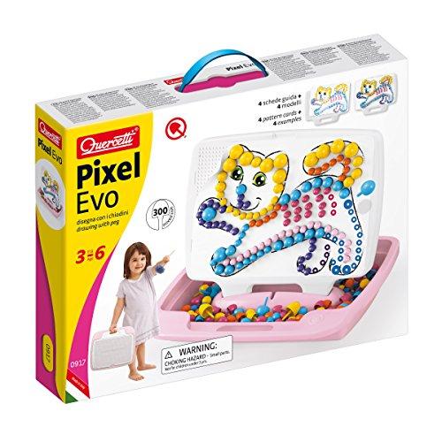 Quercetti- Pixel Evo Girl Large, 0917