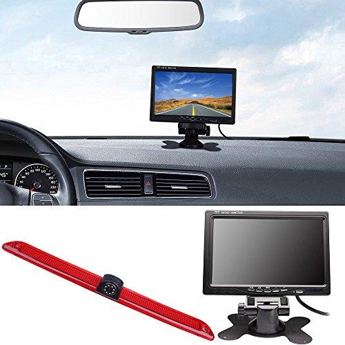 【Kit de caméra de Parking】 7'' Pouces TFT LCD Moniteur de Voitures + HD Vision Nocturne IR Feu de Freinage Caméra de recul pour Transporter Mercedes Sprinter Viano Vito Transit Ducato VW Crafter