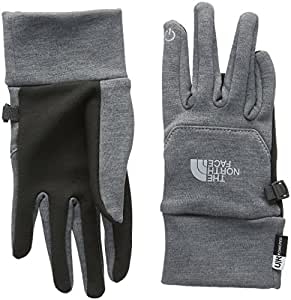 The North Face Women Etip Outdoor Gloves, Grey (High Rise Grey Heather), X-Small