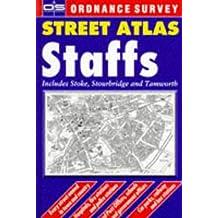 Os Str Atl Staffs Hb 0540075493 (Ordnance Survey/ Philip's Street Atlases)