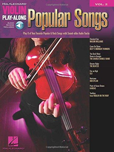Violin Play-Along Volume 2: Popular Songs (Hal Leonard Violin Play Along)