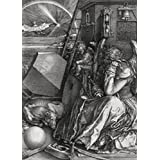 Albrecht Dürer - Melencolia I, La Melancolía, 1514, N/B, 2 Partes Póster Fotomural (250 x 180cm)