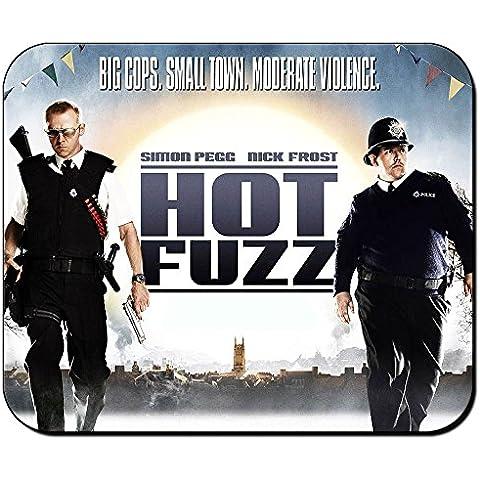 Hot Fuzz Arma Fatal Nick Frost Simon Pegg A Tappetino Per Mouse Mousepad PC