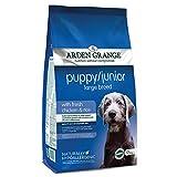 Arden Grange Puppy/Junior Large Breed with Fresh Chicken and Rice, 12 kg