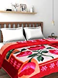 #10: SRS Designer All Season Floral Print Double Bed Blanket - Shipped in a Stylish Bag