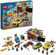LEGO® City Oto Aksesuar Atölyesi (60258)