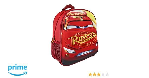 Disney 760 8186/Coupe 31/cm Cars exp/érience Junior Sac /à Dos avec Poche Frontale